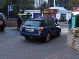 Герой паркування: у Києві помічений нахабний автохам
