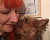 Британка вышла замуж за собственного пса (фото)