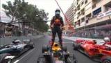 Риккардо, несмотря на огромные проблемы с властью, одержал победу на Гран-при Монако