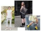 Тенденции моды 2018 — пластиковый прозрачный мешок