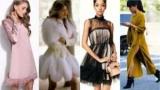 Красивый и удобный: модные платья зимой 2018 года