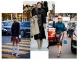 Как сочетать и носить одежды из блестящей ткани
