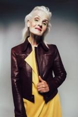 Впервые в Украине: 70-летняя модель Галина Герасимова MBKFD вышла на подиум