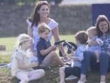 Кейт Міддлтон з дітьми відвідала турнір поло