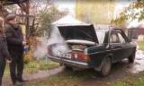 Mercedes на дровах: Спритний пенсіонер вирішив проблему дорогого палива