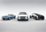 Jaguar представив автономний концепт-кар і електричний E-Type