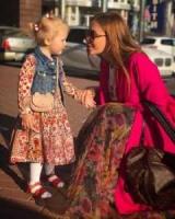 Маленька леді: Слава Камінська показала умилительную фотосесію дочки