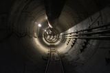 Илон Маск показал, туннель Hyperloop
