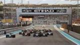 В Формуле 1, недоволен Гран-При Абу-Даби