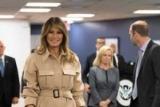 Меланія Трамп вийшла на публіку після операції