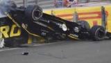 Нико Хюлькенберг был вовлечен в серьезную аварию на Гран-При Абу-Даби