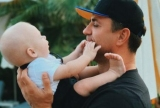 «Я самий щасливий тато»: Микола Тищенко показав маленького сина