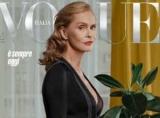 73-летняя Лорен Хаттон стала более зрелой модели на обложке Vogue истории